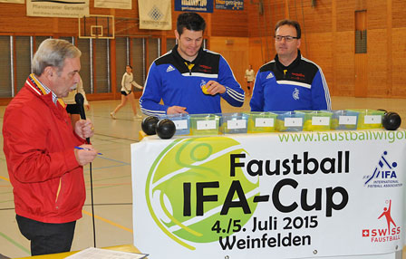 Auslosung IFA-Cup 2015